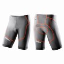 2XU Long Distance Tri Short Men Chacoal/Burnt Orange...