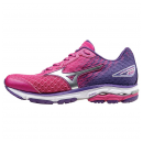 MIZUNO Wave Rider 18  Women Fuchsia Purple / Silver /...