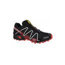 Salomon Schuhe SPIKECROSS 3 CS BK/RADIANT.R/WH 38315400