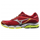 MIZUNO Wave Ultima 7 Chinese Red 7 Silver / Safety Yellow...