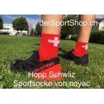 Noyac Sportsocken mit Schweizerkreuz