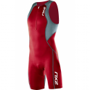 2XU Comp Trisuit Men MT1837d Venere Red / Steel