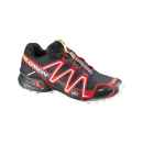 Salomon Schuhe SPIKECROSS 3 CS BLACK/RD/CAN L35284900