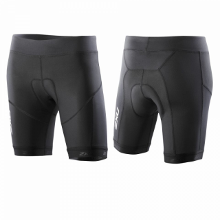 2XU TR Compression Tri Short (Twin-Rail-Chamois) Women WT2324b BLK/BLK