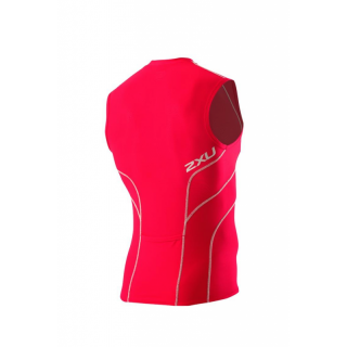 2XU Men`s ACTIVE  Tri Single MT 2056a vnr/gry (Vemere Red /Grey (Rot Graue Nähte)