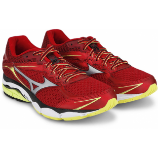 MIZUNO Wave Ultima 7 Chinese Red 7 Silver / Safety Yellow  J1GC150905