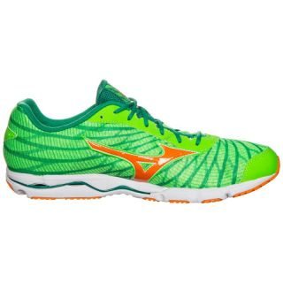MIZUNO Wave Hitogami 4 Neon Green/Vibrant Orange/Golf Green J1GC178053