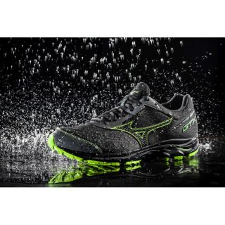 MIZUNO Wave Rider 22 GT-G  Men Neutral Gunmetal / Black / Green Slime J1GC187905