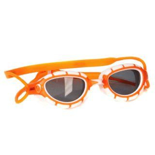 ZOGGS Schwimmbrille Predator Performance  Rahmen  weiss- orange 317863