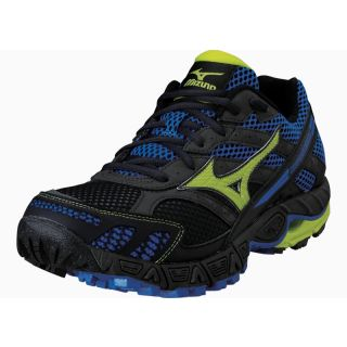 MIZUNO Wave Tarawera Charcoal Grey/ Lime Punch / Imperial Blue 08KN27835
