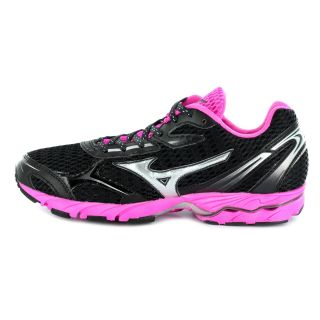 MIZUNO Wave Aero 9 Women Anthracite/Silver/Electric  08KN-03381