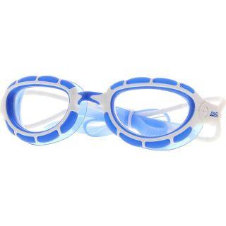 ZOGGS Schwimmbrille Performance  Predator Rahmen weiss/blau Lens clear    312863