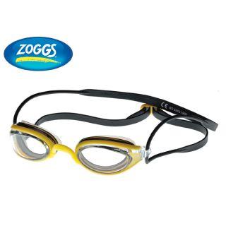 ZOGGS Schwimmbrille Performance  Fusion Air Men und Women Schwarz-Gelb/Klar 304755