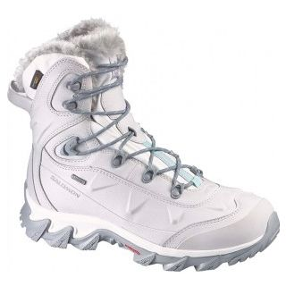 Salomon Winterschuh NYTRO GTX W Damen L366747 STEEL GREY/CANE/SOFTY BLUE