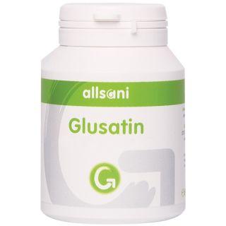 Allsani Glusatin Nahrungsergänzungsmittel Glucosamin + Chondroitin Kapseln mit Brennnesselextrakt (20:1), Kurkurmaextrakt (10:1), Ingwerextrakt (10:1) sowie Selen, Vitamin B6, K1 und D3