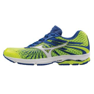 MIZUNO Wave Sayonara 4 Men Safety Yellow / White / Dazzling Blue J1GC163001