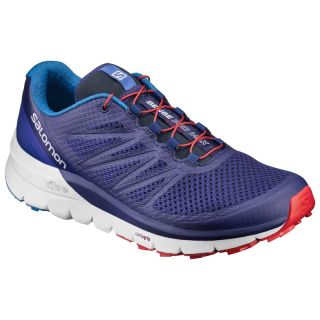 Salomon Schuhe SENSE PRO MAX Blue Depths/White/Fiery Red L39248900