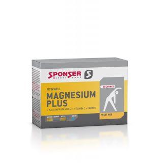Sponser FIT&WELL MAGNESIUM PLUS FRUIT MIX DRINK - 20 x 6g Sachet