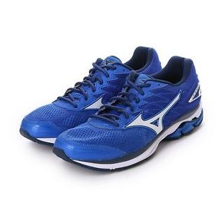 MIZUNO Wave Rider 20 Men Neutral  Nautical Blue / White / Dress Blues J1GC170304