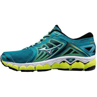 MIZUNO Wave Sky  Women Neutral TiteBlue/Silver/SYellow J1GD170204