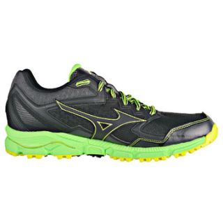 MIZUNO Wave Daichi 2 Men  black/black/green J1GC177109