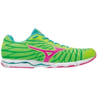MIZUNO Wave Hitogami 4 Women Gecko/Electric/Ceramic J1GD178065