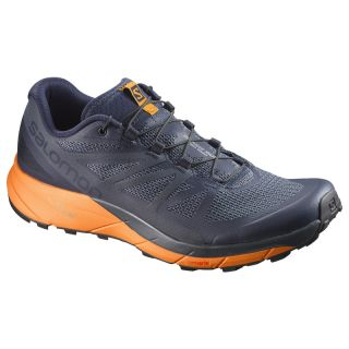 Salomon Schuhe SENSE RIDE Navy Blaze/Bright Mar L39474300