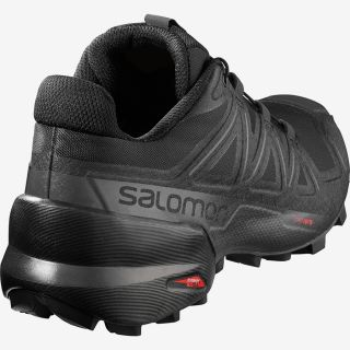 SALOMON Schuhe SPEEDCROSS 5 W BLACK/BLACK/PHANTOM