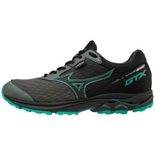 MIZUNO Wave Rider GTX  Women Neutral Gummetal / Black / Billard  J1GD187905