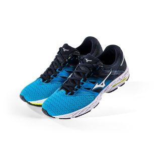 MIZUNO Wave Shadow 2  Men Neutral Blue Jewel / Silver / Safety Yellow  J1GC183001