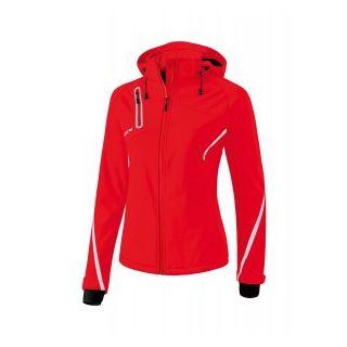 Erima 9060711 Softshelljacke Function Frauen rot/weiß