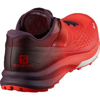 Salomon Schuhe S/LAB ULTRA 2 RACING RED/MAVERICK WHITE L4092720024