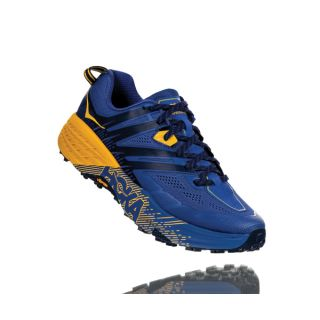 HOKA Men Ms Speedgoat 3 Trail - Galaxy Blue/Old Gold HOK1099733GBOG