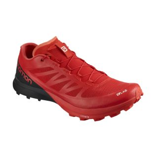 Salomon Schuhe S/LAB SENSE 7 SG Racing Red/Black/White 402260