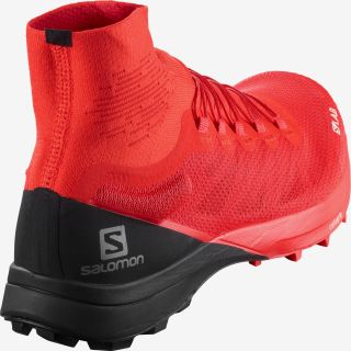 Salomon Schuhe S/LAB SENSE 8 SG Racing Red/Bk/Wh L40751600