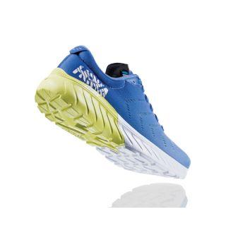 HOKA  Ws Mach 2 PBLSB   - Palace Blue/Lime Sherbet HOK1099722/PBLSB ist halbe Nummer grösser geschnitten als Normale Hoka
