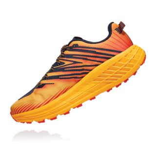 HOKA Men Ms Speedgoat 4 Sky - Trail GFBI   - Gold Fusion/Black Iris HOK1106525GFBI