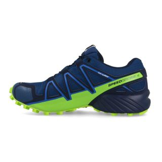 SALOMON Schuhe SPEEDCROSS 4 GTX® Poseidon/Navy Blanzer/lime Green L40492300