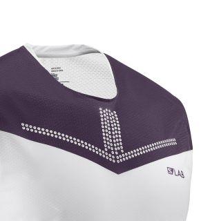Salomon S/Lab Sense Tank M Fabe White/Bordeaux