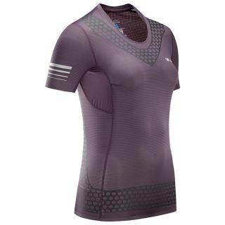 Salomon T-Shirt S/LAB EXO SS TEE W Maveri Farbe Bordeaux Black
