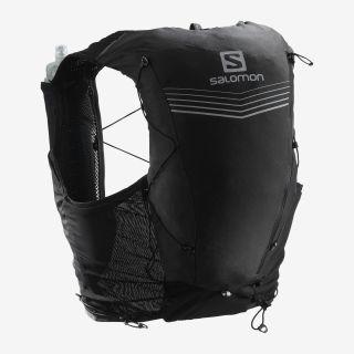 Salomon Rucksack ADV SKIN 12 SET Farbe BLACK