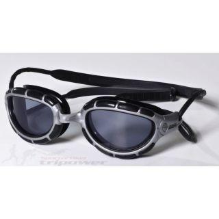 ZOGGS Schwimmbrille Predator Rahmen Silber schwarz 307863
